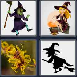 4-pics-1-word-5-letters-witch