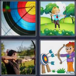 4pics1word 6 letters clock 4 pics 1 word 6 letters answers easy search updated 2019 19085 | 4 pics 1 word 6 letters Archer