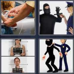 4 Pics 1 Word 6 Letters Arrest