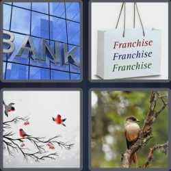 4 Pics 1 Word 6 Letters Branch