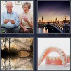 4 Pics 1 Word 6 Letters Bridge