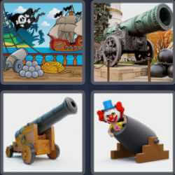 4-pics-1-word-6-letters-cannon