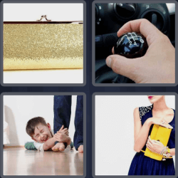4 Pics 1 Word 6 Letters Clutch