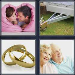 4 Pics 1 Word 6 Letters Couple