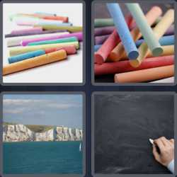 4-pics-1-word-6-letters-crayon