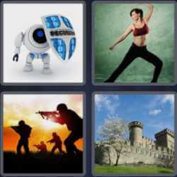 4 Pics 1 Word 6 Letters Defend