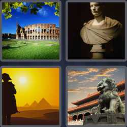 4 Pics 1 Word 6 Letters Empire