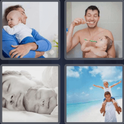 4 Pics 1 Word 6 Letters Father