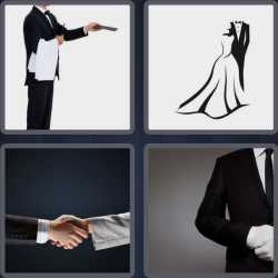 4 Pics 1 Word 6 Letters Formal