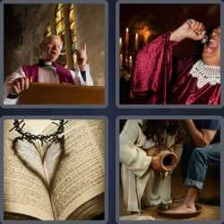 4-pics-1-word-6-letters-gospel