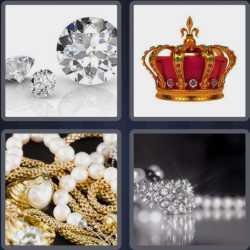 4 Pics 1 Word 6 Letters Jewels