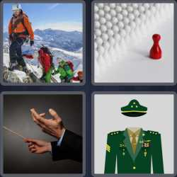 4 Pics 1 Word 6 Letters Leader