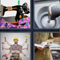 4 Pics 1 Word 6 Letters Manual