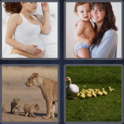 4 Pics 1 Word 6 Letters Mother