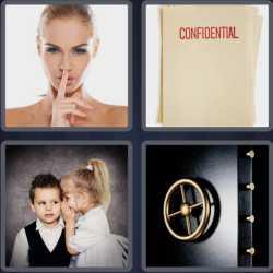 4 Pics 1 Word 6 Letters Secret