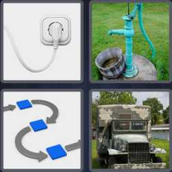 4 Pics 1 Word 6 Letters Supply