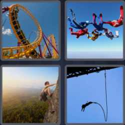 4 Pics 1 Word 6 Letters Thrill
