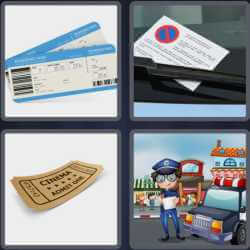 4 Pics 1 Word 6 Letters Ticket