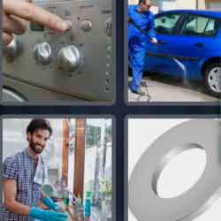 4 Pics 1 Word 6 Letters Washer