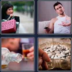 4 Pics 1 Word 6 Letters Addict