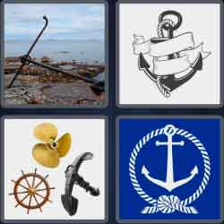 4 Pics 1 Word 6 Letters Anchor