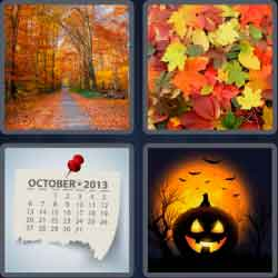 4 Pics 1 Word 6 Letters Autumn
