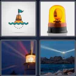 4 Pics 1 Word 6 Letters Beacon