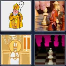 4 Pics 1 Word 6 Letters Bishop