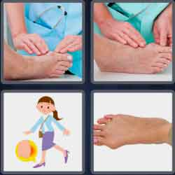 4-pics-1-word-6-letters-bunion