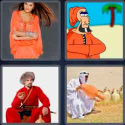 4-pics-1-word-6-letters-caftan