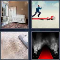 4 Pics 1 Word 6 Letters Carpet