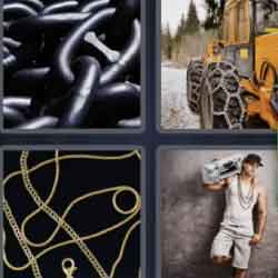 4 Pics 1 Word 6 Letters Chains