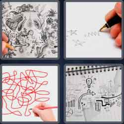 4-pics-1-word-6-letters-doodle