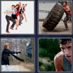 4 Pics 1 Word 6 Letters Effort