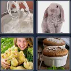 4 Pics 1 Word 6 Letters Fluffy