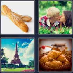 4 Pics 1 Word 6 Letters French