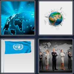 4 Pics 1 Word 6 Letters Global