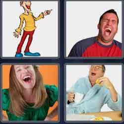 4-pics-1-word-6-letters-guffaw