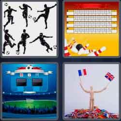4 Pics 1 Word 6 Letters League