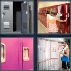 4 Pics 1 Word 6 Letters Level 3667 Locker