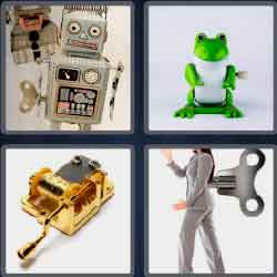 4 Pics 1 Word 6 Letters Level 3681 Windup