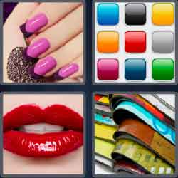 4 Pics 1 Word 6 Letters Level 3703 Glossy