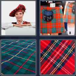 4 Pics 1 Word 6 Letters Level 3714 Tartan
