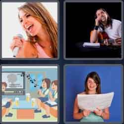 4 Pics 1 Word 6 Letters Lyrics