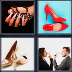 4 Pics 1 Word 6 Letters Pointy