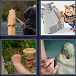 4-pics-1-word-6-letters-sculpt