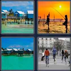 4 Pics 1 Word 6 Letters Stilts