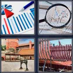 4 Pics 1 Word 6 Letters Stocks