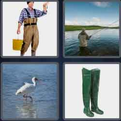 4-pics-1-word-6-letters-wading