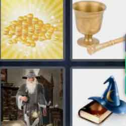 4 Pics 1 Word 7 Letters Alchemy